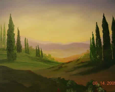 Landscape Painting Demonstration 7
