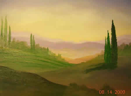 Landscape Painting Demo 6