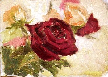 how to paint roses 5
