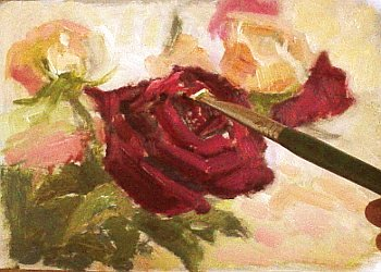 how to paint roses 6
