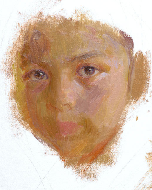 oil painting portrait lesson brittany3