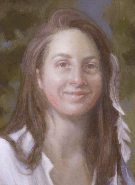 oil painting portrait skin tones