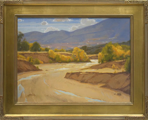 Sand Creek Landscape Painting By Dan Schultz