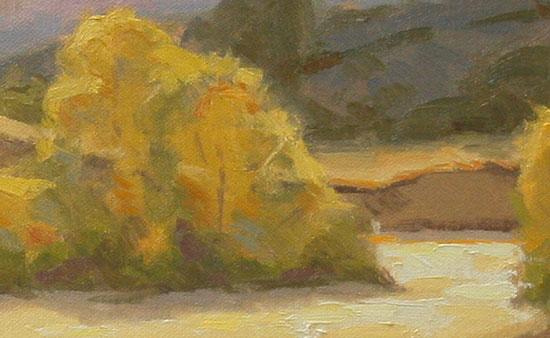 how to paint a landscape on canvas
