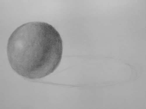 Beginner Drawing - Shade Sphere 4