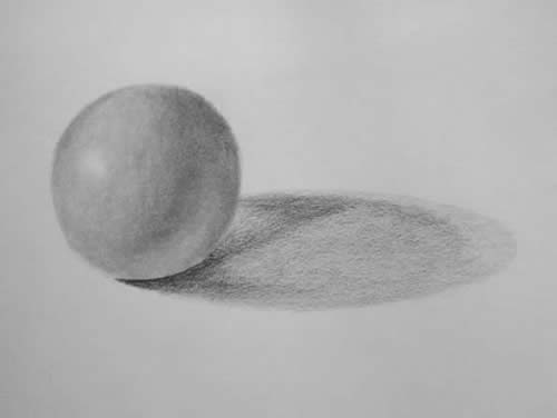 Drawing Lessons - Shade a Sphere 5