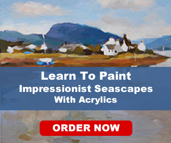Paint an Impressionsist Seascape in Acrylics