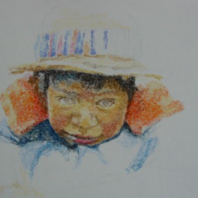 Pastel Drawing Lesson Step 6