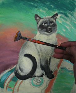 cat painting step 6
