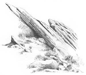 Rock Drawing Tutorial Image 1