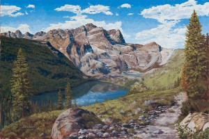 Sierra Splendor - Landscape Oil Painting