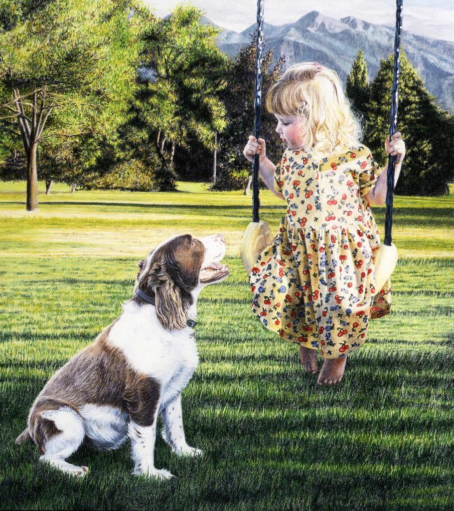 """Abby and Louie""  By Sheri Lynn Boyer"