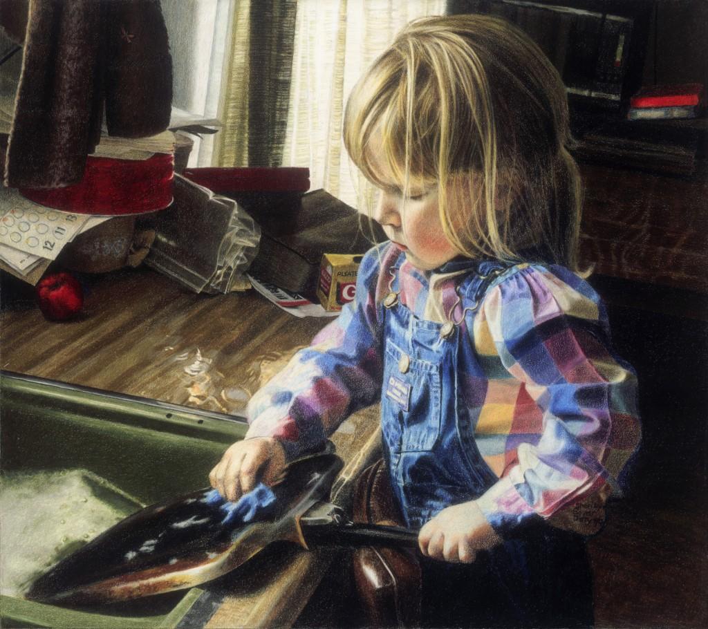 Small Things By Sheri Lynn Boyer Doty - Colored Pencil Artist