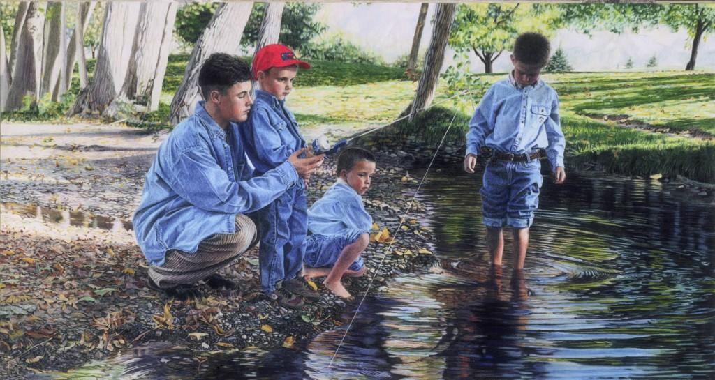 """Four Brothers ""  By Sheri Lynn Boyer Doty"