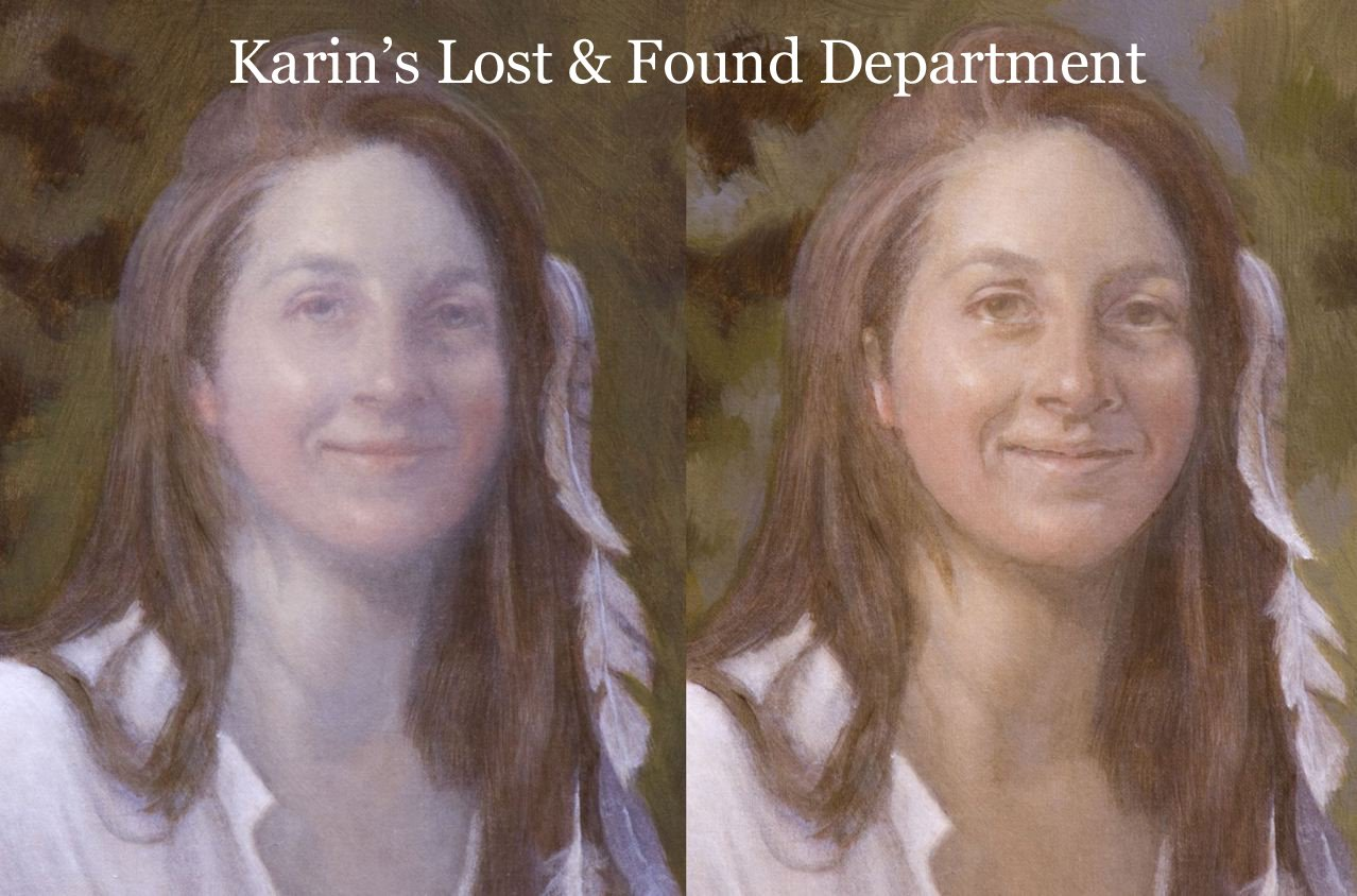 Losing a likeness and finding it again and again portrait losing likeness painting 1 baditri Image collections