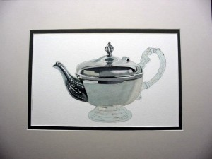 Watercolor Teapot Lesson 7