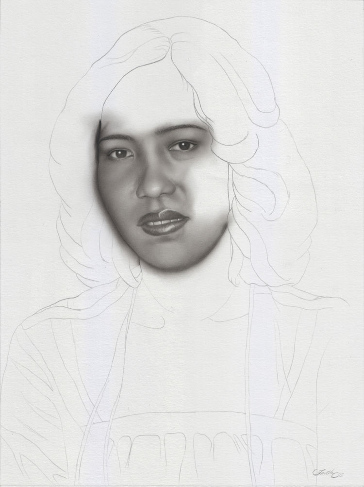 Portrait Drawing Lesson In Pencil By Faith Te