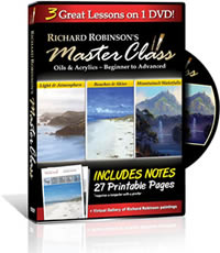 richard robinson painting dvd