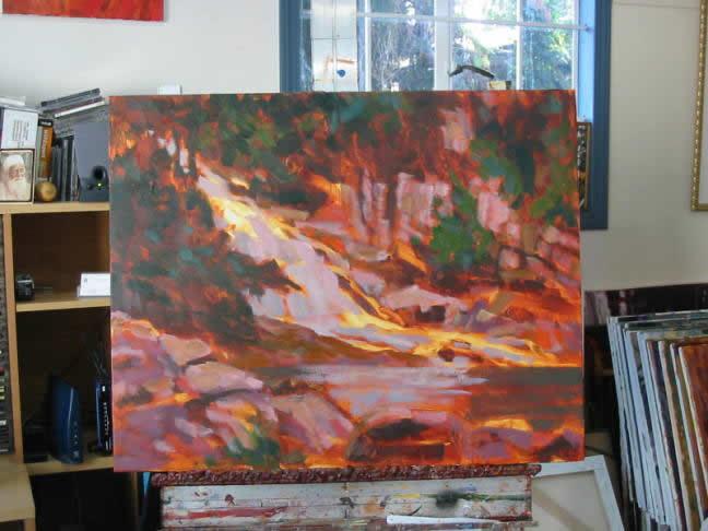 instrução pintura acrílica 6