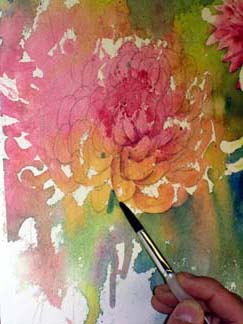 Chinese Flower Painting Demonstration