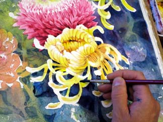 flower painting tips 15