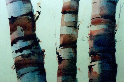 painting watercolor trees 4