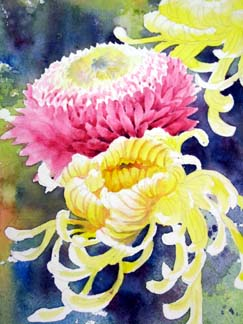 watercolor flowers demo 10