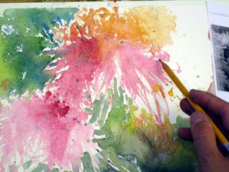 watercolor step by step 11