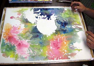 watercolor step by step 7