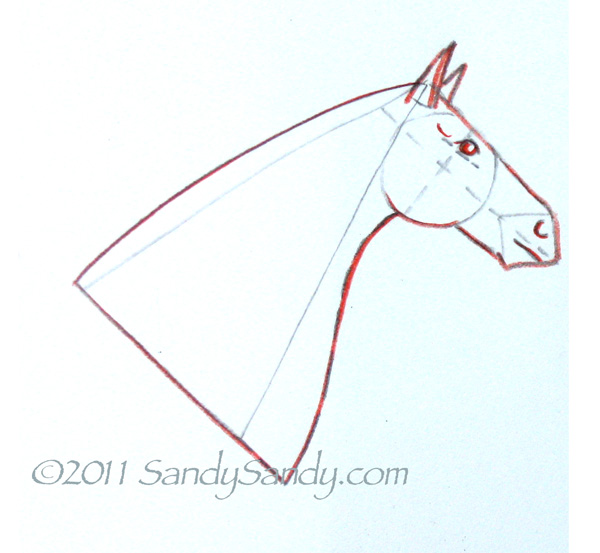 How to Sketch a Horse Step by Step