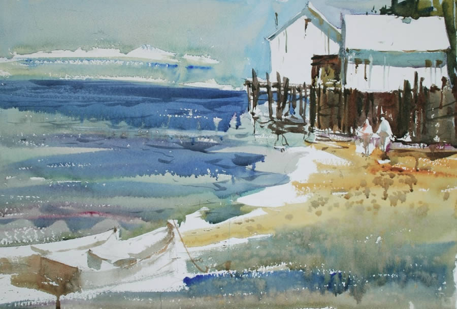 Watercolor Painting Lesson - Painting those Light-Filled Days