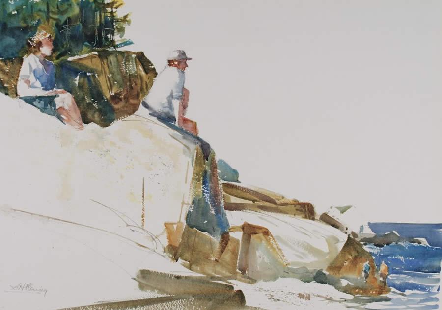 Watercolor Painting Techniques Image