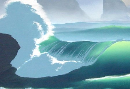 oil painting wave techniques 7