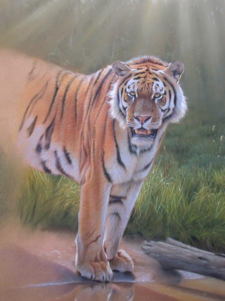 Wildlife Pastel Art Image 9