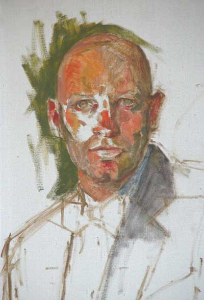 how to paint a portrait in oil step by step