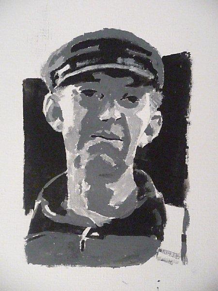 Acrylic Portrait Painting Demo