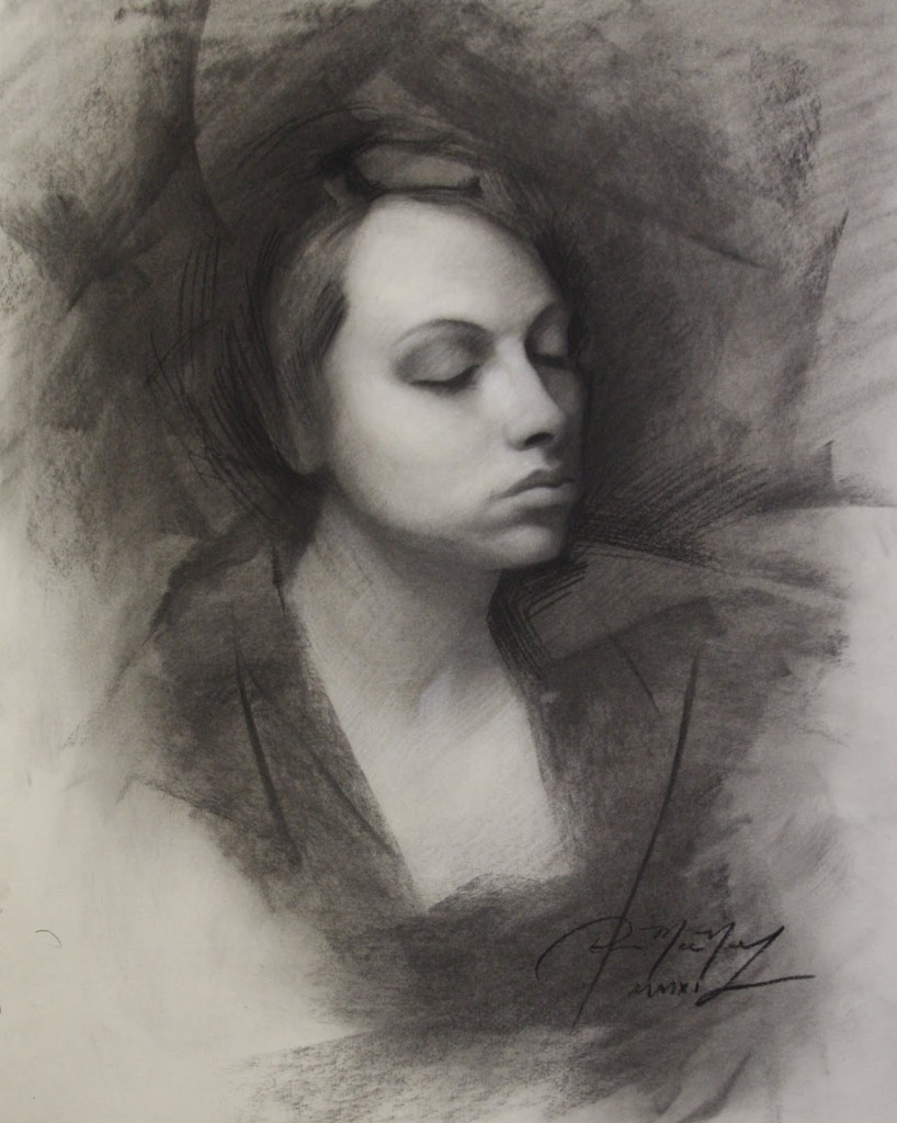 charcoal drawing demonstration final 818x1024