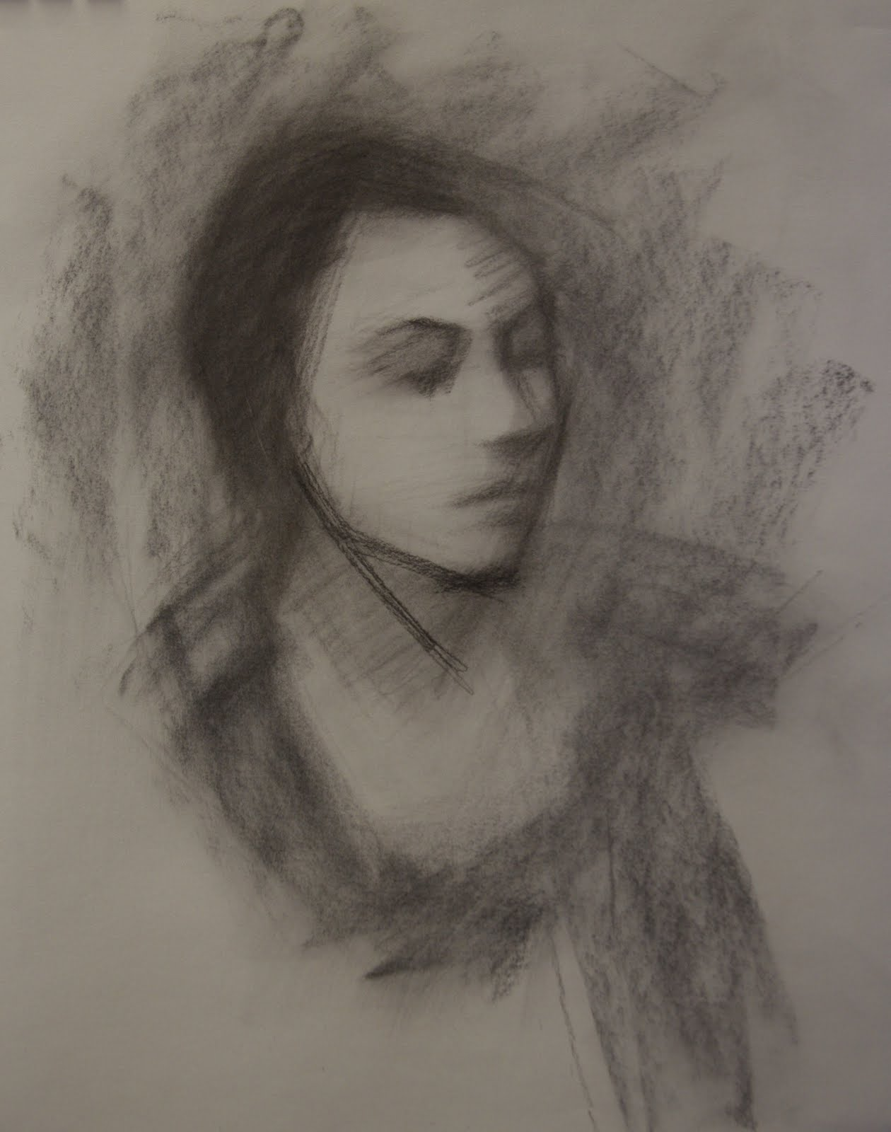 charcoal drawing lesson 2