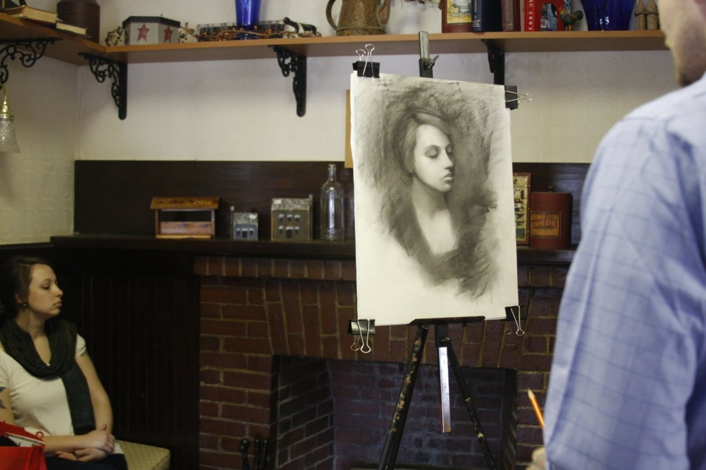 charcoal portrait lesson 6 1024x682