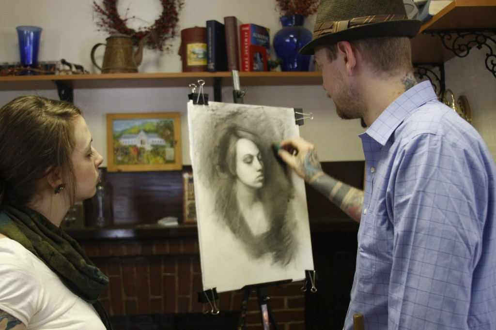 charcoal portrait techniques 7 1024x682