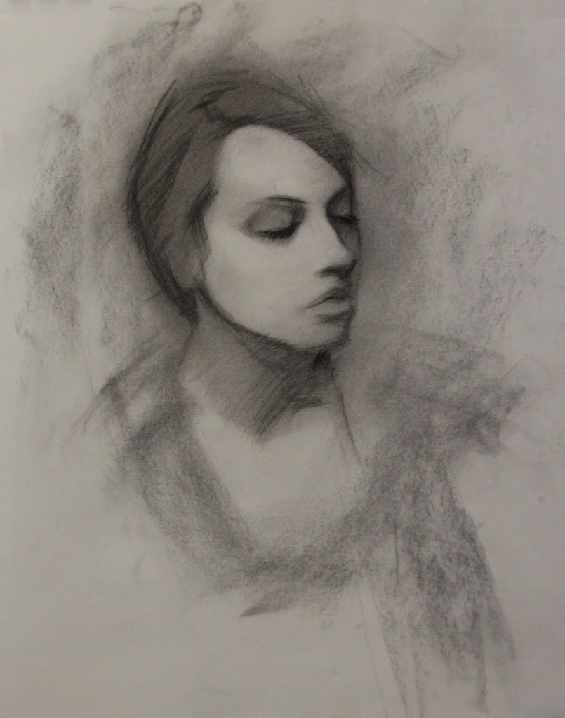 charcoal portrait tutorial 5 805x1024