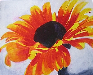 flower painting demo 4