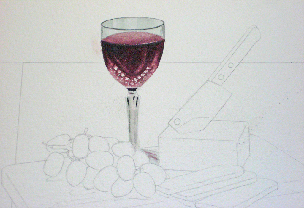 How to Paint a Still Life in Watercolour