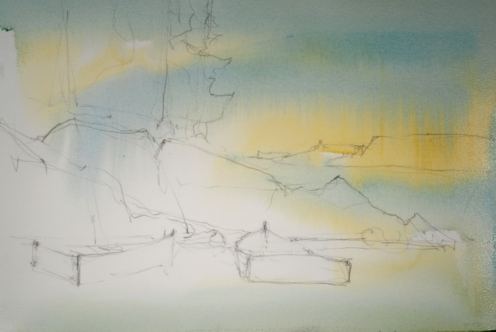 Watercolor Painting Demonstration Image 2