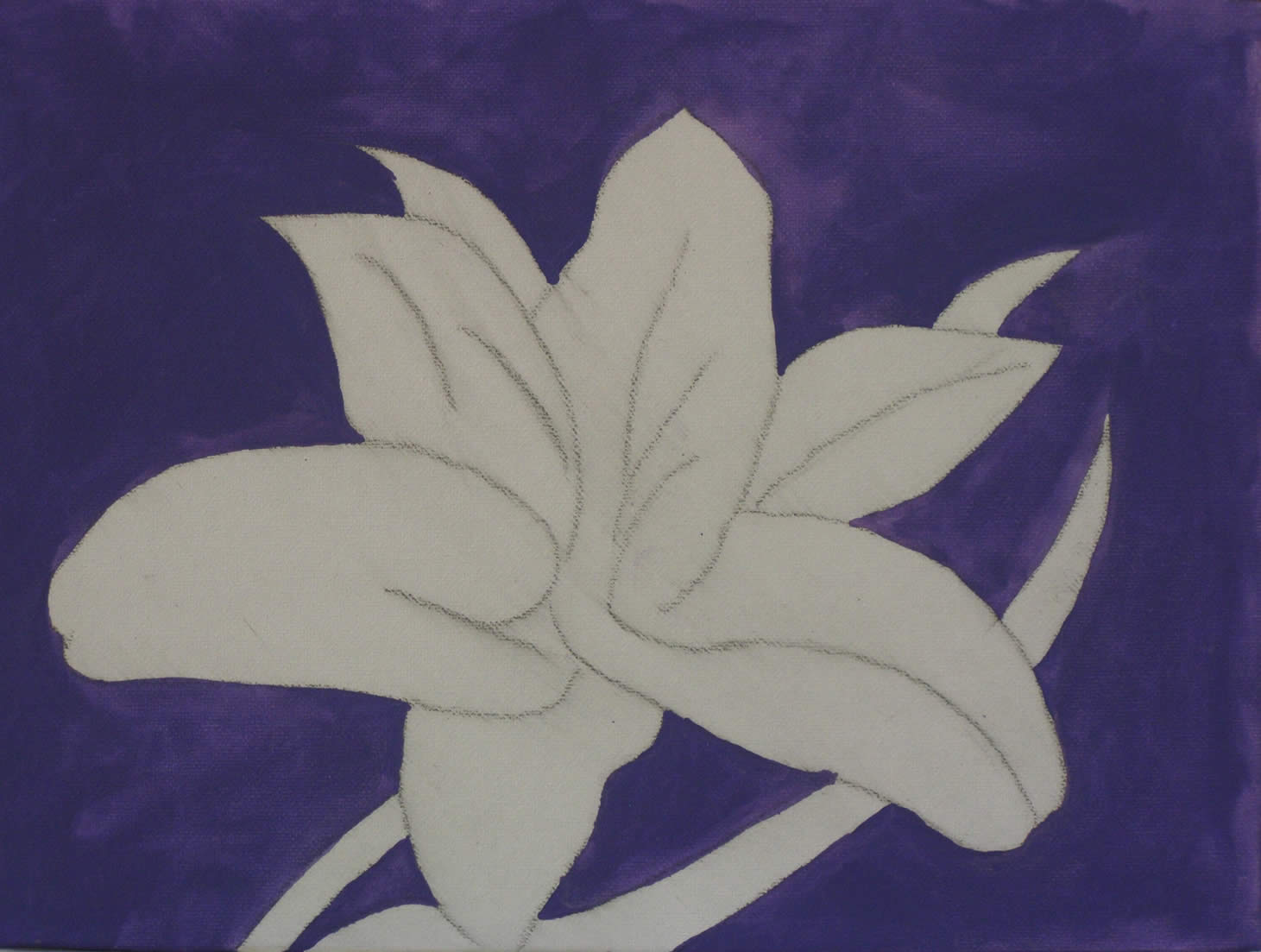 How to paint a lily flower in oils step izmirmasajfo Images