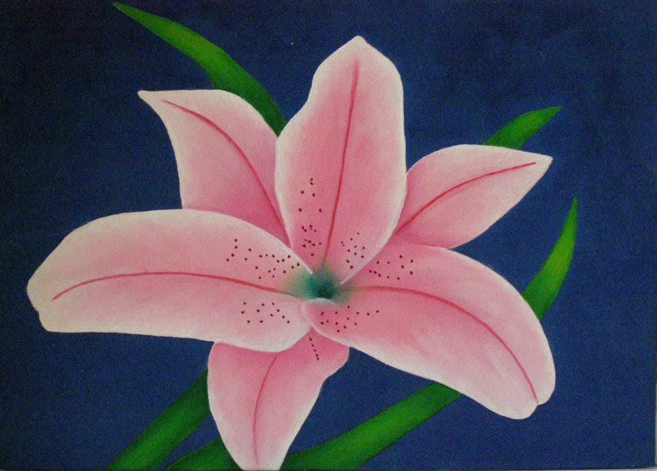 oil painting flower 5