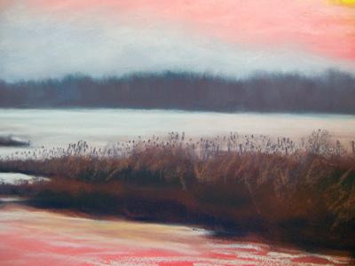 pastel landscape demo 12