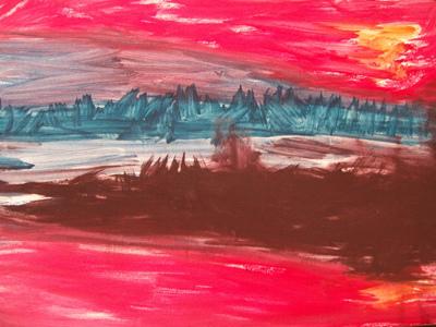 pastel painting demo 7