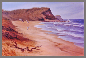 north avoca oil commission 1980s 24x36 inches1