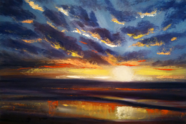 painting sunset oils 6